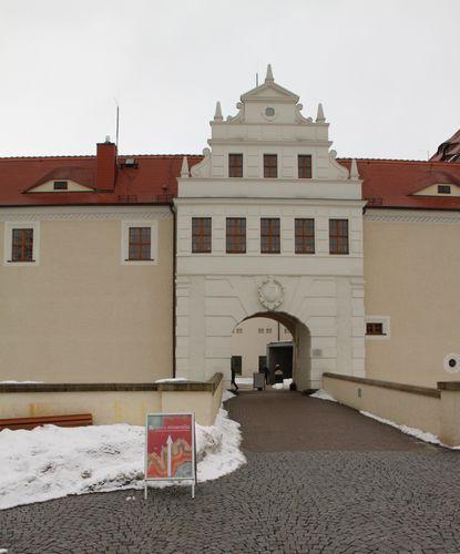 Schloss Freudenstein - Eingang
