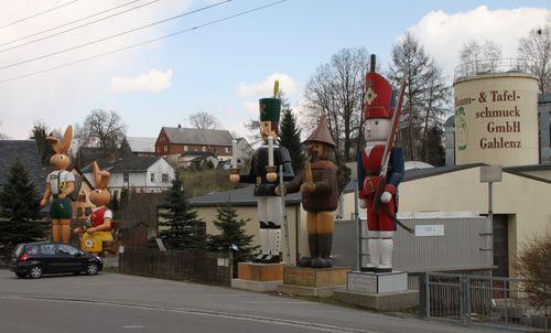 Erzgebirge - Gahlenz - Osterhase