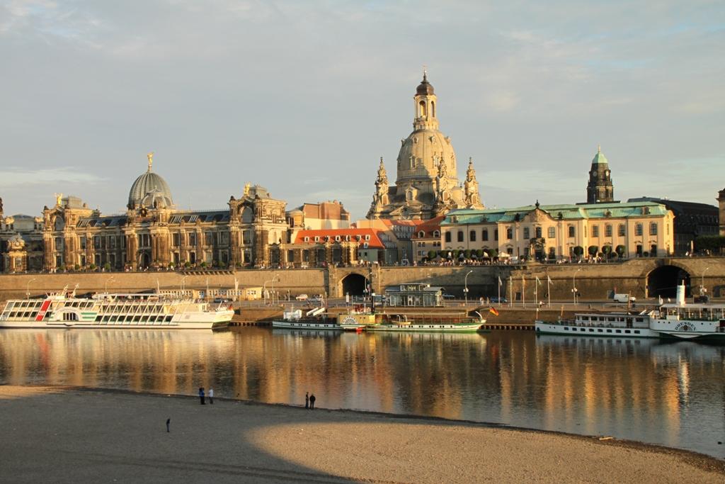 Dresden – Frauenkirche - Brühlsche Terrasse