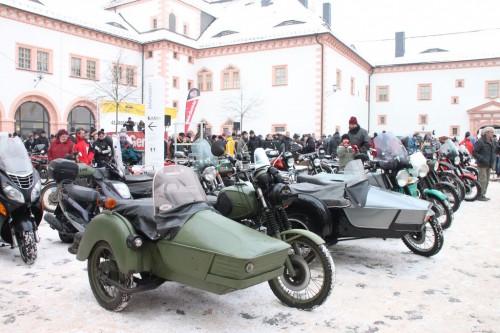 2013/01 - 42. Motorrad- Wintertreffen in Augustusburg.