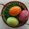 2013/03 – Vor Ostern selbst mal wieder Eier bemalen.