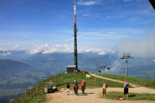"""2013/07 – """"Hohe Salve"""" in Österreich Tirol."""