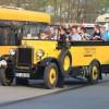 2014/04 - Die DVB präsentiert 100 Jahre Omnibus in Dresden.