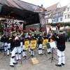 2014/11 - Freiberger Weihnachtsmarkt mit dem Bergmusikkorps Saxonia.