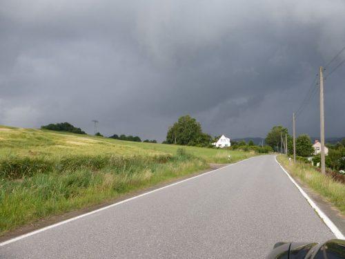2016/07 - Das Sommerwetter macht was es will.