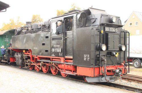 2016/10 – Rückfahrt nach Freital-Hainsberg. Bald geht es weiter nach Kipsdorf.