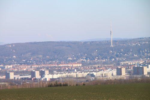 2018/02 - Blick zum Fernsehturm.
