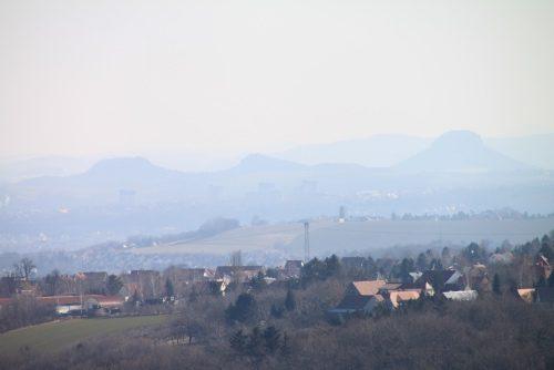 2018/02 - Blick in die sächsische Schweiz.