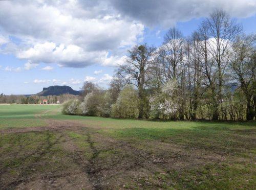 """2018/04 - Blick in das Elbsandsteingebirge auch """"Sächsische Schweiz"""" - Bild 4"""