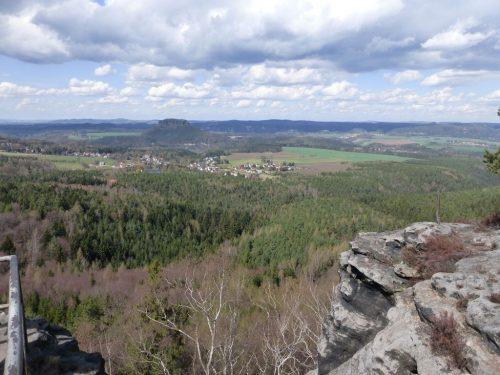 """2018/04 - Blick in das Elbsandsteingebirge auch """"Sächsische Schweiz"""" - Bild 2"""