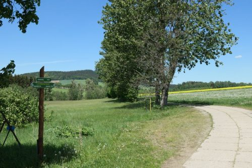 2018/05 – Wandern im Erzgebirge. (Crottendorf 4)