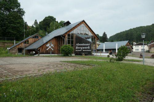 2018/06- Abenteuer Bergwerk Bernsteinzimmer und Gaststätte Huthaus