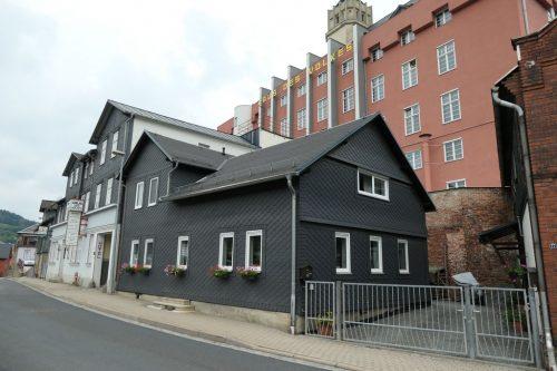 """2018/07 - Ein Haus mit Geschichte """"Haus des Volkes"""" in Probstzella"""
