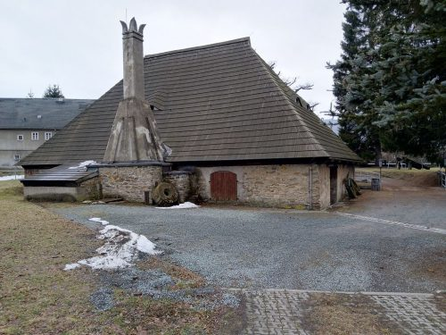 2019/03 - Kupferhammer Grünthal - Rückseite mit Krone