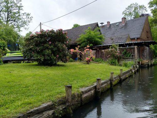 2019/05 - Auch bei Regen ist der Spreewald schön.