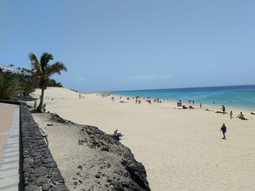 2019/08 - Fuerteventura Strand ohne Grenzen.