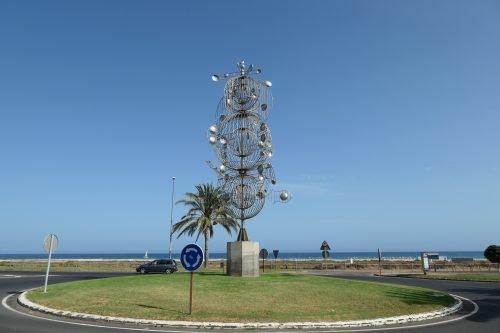 2019/08 - Fuerteventura, wenn Windräder zur Kunst werden.
