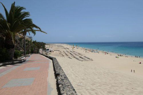 2019/08 - Fuerteventura, auch solche Strände gibt es.