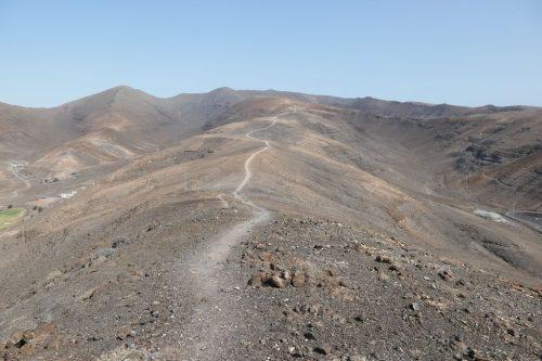 2019/08 - Fuerteventura, Wanderung über die Berge.