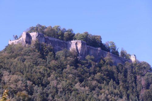 2019/09 - Blick vom Ort Königstein zur Festung.