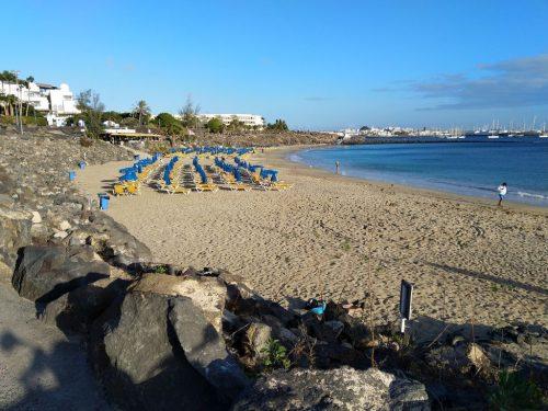 2019/11 - Am Strand von Playa Blanca.