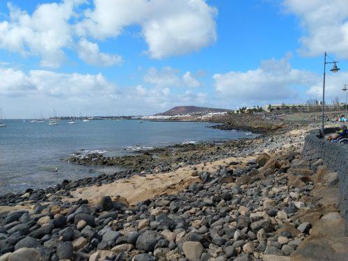 2019/11 - Lanzarote Playa Blanca Blick vom Hafen.