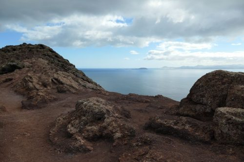 2019/11 - Blick vom Vulkan nach Fuerteventura.
