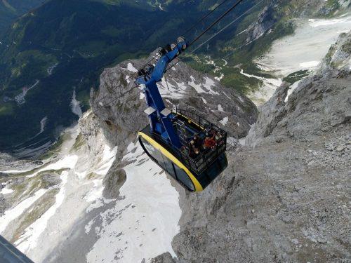 2020/06 - Auf der Gondel zum Dachstein.