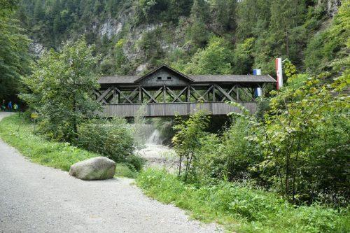 2020/09 - Eingang zur Kundler Klamm Tirol Wildschönau.