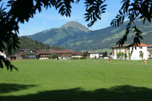 2020/09 - Blick von Kirchberg auf die Hohe Salve.