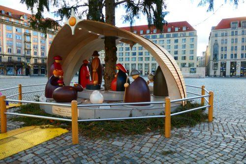 2020/12 - Altmarkt Dresden - Weihnachten 2020