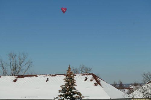 2021/02 - Am Valentinstag ein Herz am Himmel.