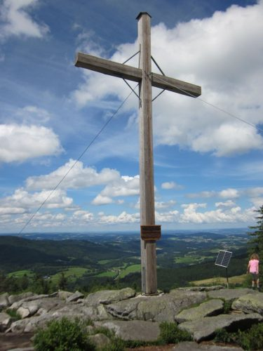 2021/07 - Gipfelkreuz an der Käsplatte.