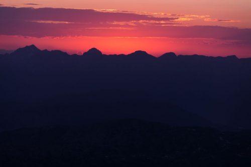 2021/07 - Der Sonnenaufgang ist nicht mehr weit.