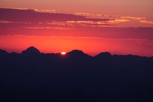 2021/07 - Der erwartete Sonnenaufgang ist da.