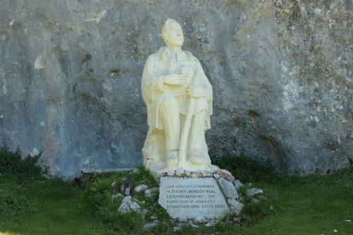2021/07 - Peter Rosegger Denkmal am Stoderzinken.
