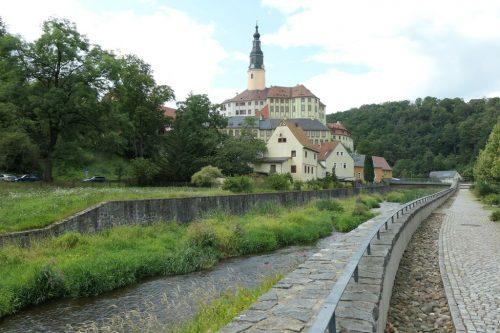 2021/08 - Am Müglitz entlang zum Schloss Weesenstein.