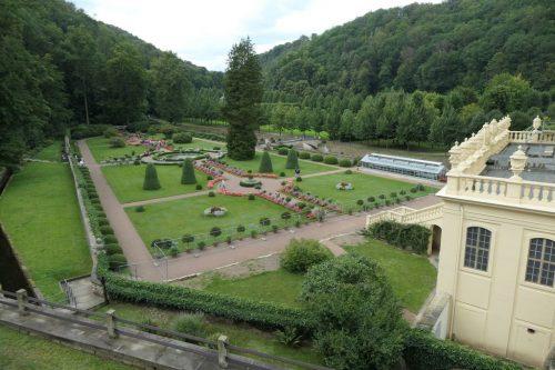 2021/08 - Blick zum Schlosspark.